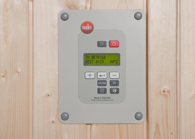 WEKA Sauna Ofenset 2 - 7,5 kW inkl. Kabel, Steuerung, Steine - Klassisch