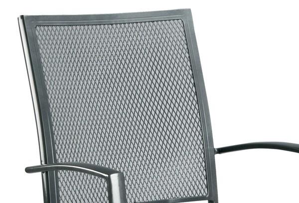 Best Aluminium Gittersessel Chantal anthrazit