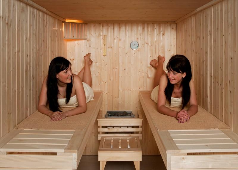 WEKA Heimsauna Elementbau Sauna KAARINA 2