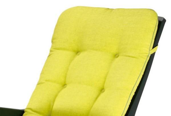 Best Klappsessel / Deck-Chair Florida grün - inkl. Polster