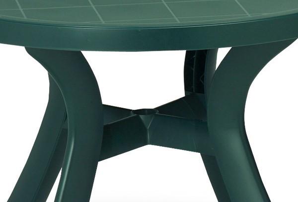 Best Tisch Kansas rund 100cm Ø blau
