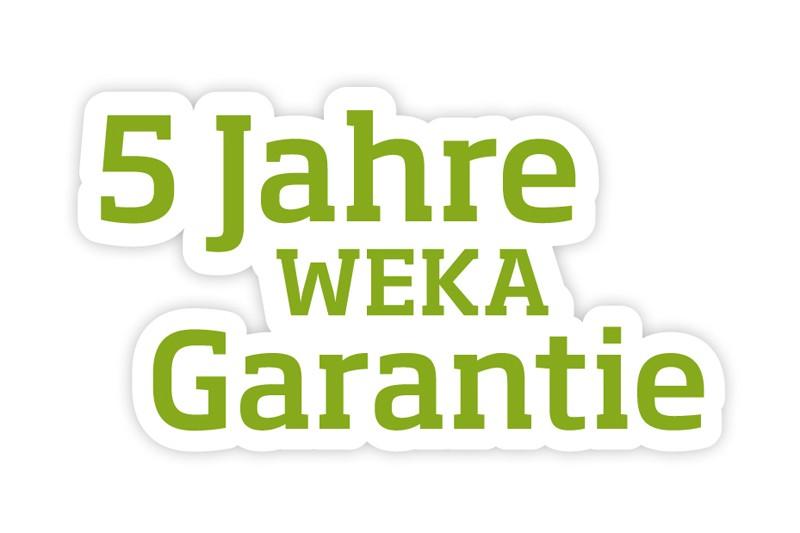 WEKA Heimsauna Massivholzsauna Design-Sauna Kemi 5 mit Glastüre