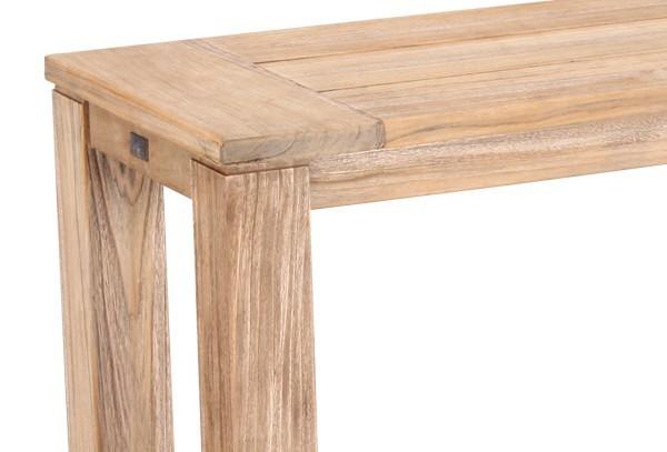 Best Teak-Sideboard Moretti 100x42cm grey-wash