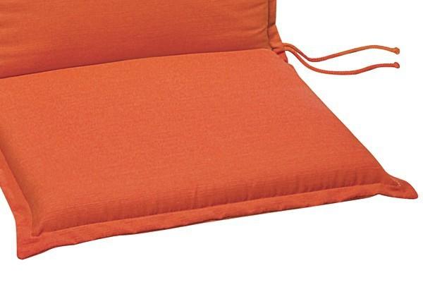 Best Zierkissen 40 x 40 x 12cm Dessin-Nr.: 1231 Farbe: orange