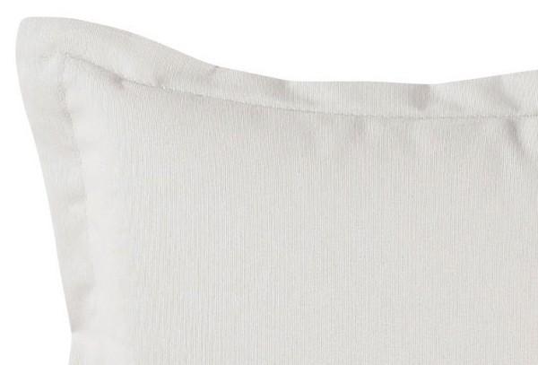 Best Zierkissen 40 x 40 x 12cm Dessin-Nr.: 1251 Farbe: weiß