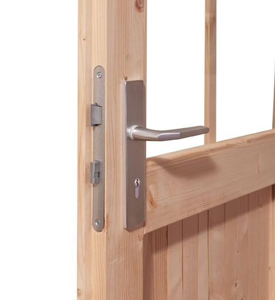 Woodfeeling 38 mm Saunahaus Taina inkl. Ofen 9 kW Bio externe Strg - naturbelassen - ohne Vorraum