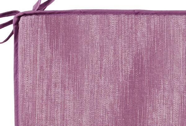 Best Sitzkissen mit Schlaufen 40 x 40 x 3cm Dessin Nr.: 1479 Farbe: lila
