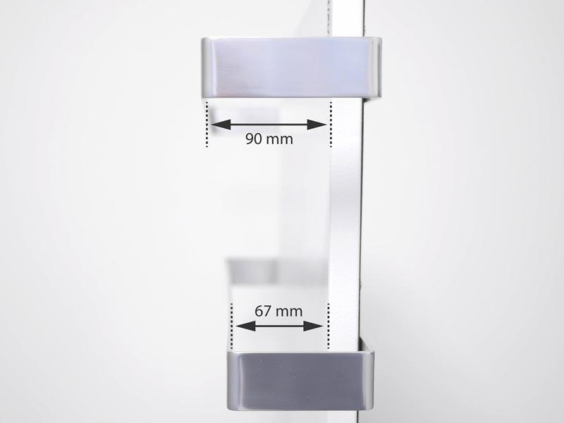 Vasner Handtuchhalter Für Infrarotheizung Citara Glas