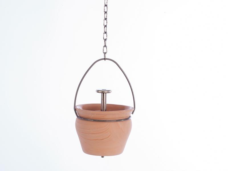 Sauna Zubehör Aroma-/ Aufgusstopf für Sauna mit Tropfventil