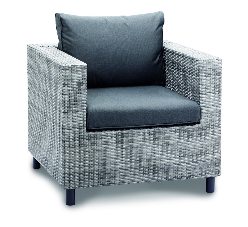 Best Loungesessel Bonaire warm-grey