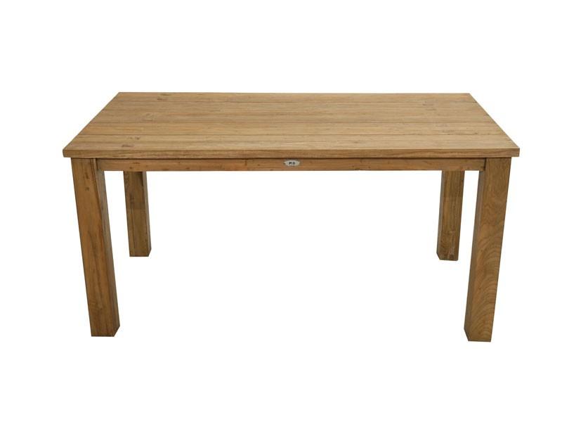 Ploss Gartenmöbel Rustikal Dining-Tisch Picton in Old-Teak 160 x 90 x 75 cm