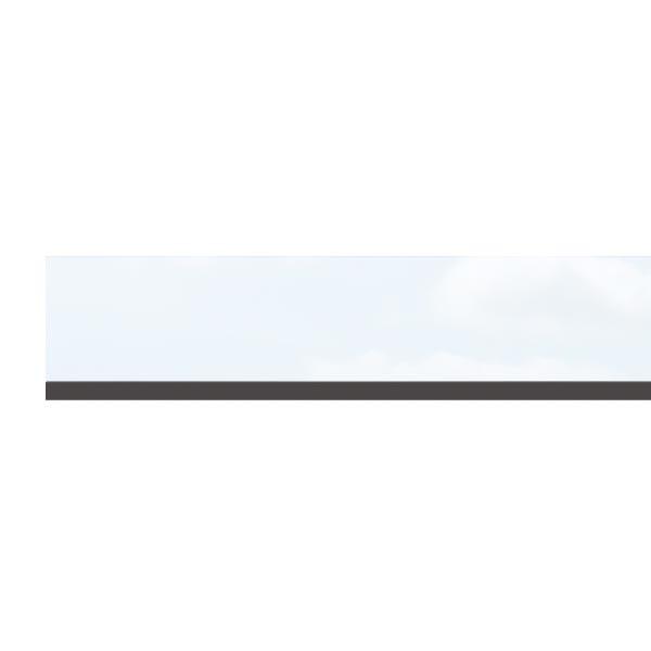 TraumGarten Dekorprofil System Set Matt-Design Kunststoff - 15 x 178 cm