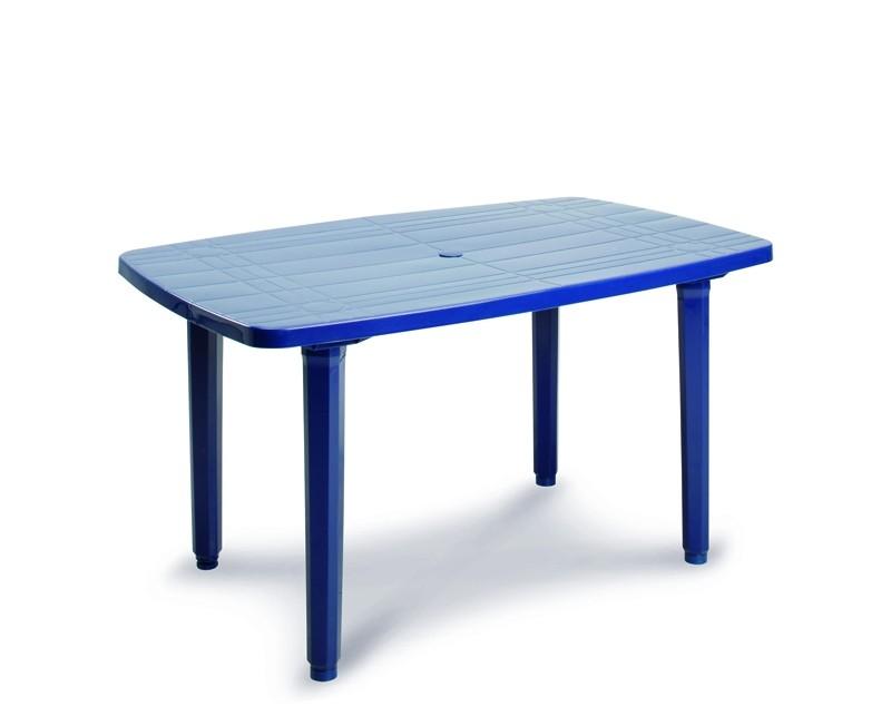 Best Tisch Festival 140x85cm blau