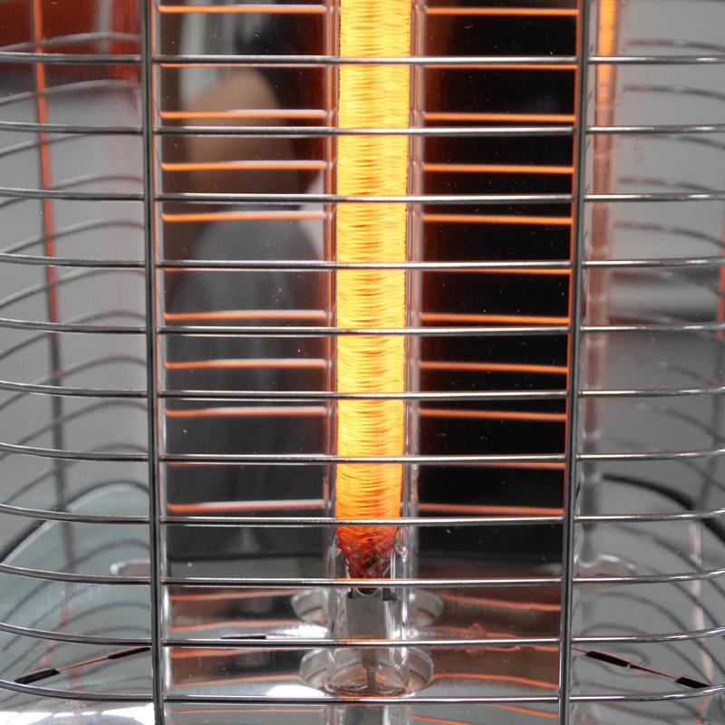 VASNER StandLine 25R Infrarot-Standheizstrahler Carbon 2500 Watt - Farbe schwarz