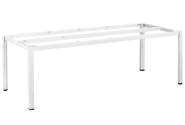 Kettler CUBIC Tischgestell 220x95 cm, weiß