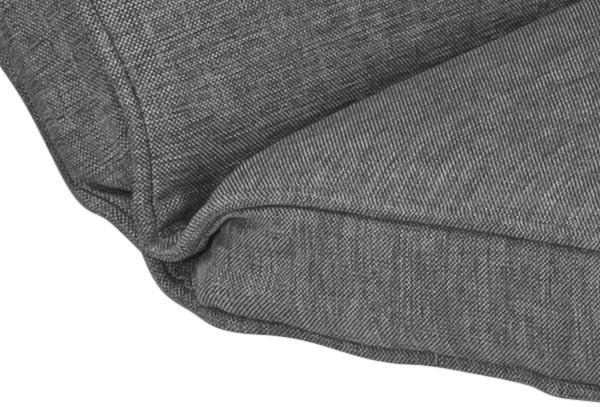 Kettler Polsterauflage für Sessel Medoc, Dessin 837 Grau - 48x48/38x6 cm