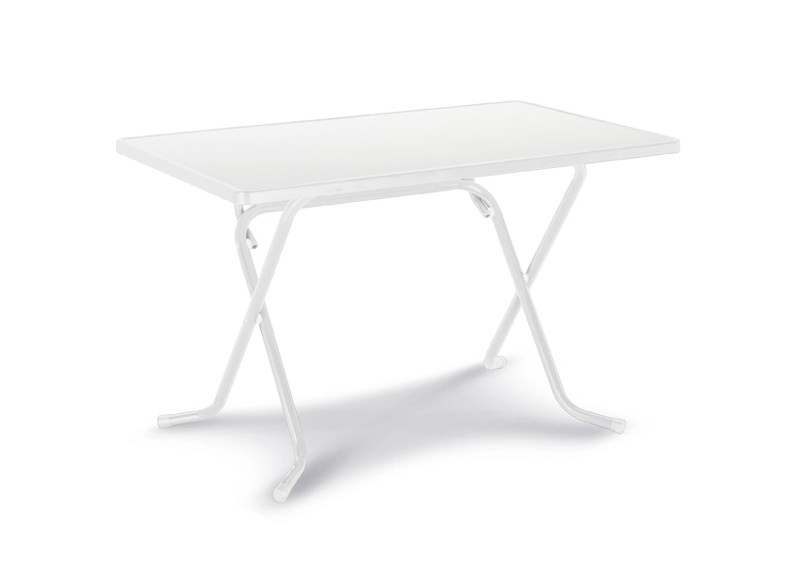 Best Scherenklapptisch Primo eckig 110x70cm weiß