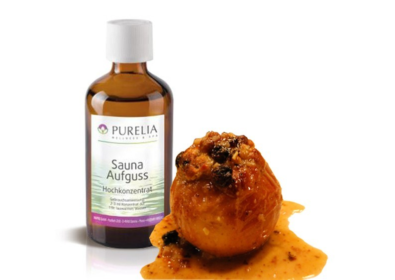Purelia Saunaaufguss Duft 50 ml Bratapfel - Saunaduft