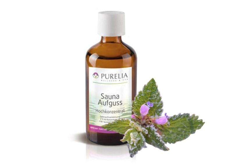 Purelia Saunaaufguss Duft 50 ml Eisminze - Saunaduft