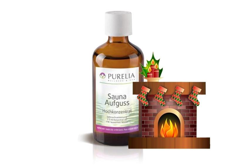 PureliaSaunaaufguss Duft 50 ml Kaminzauber - Saunaduft