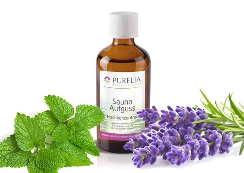 Purelia Aufgusskonzentrat Saunaduft 50 ml Melisse-Lavendel