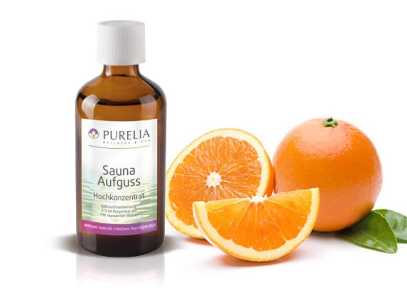 Purelia Aufgusskonzentrat Saunaduft 50 ml Orange