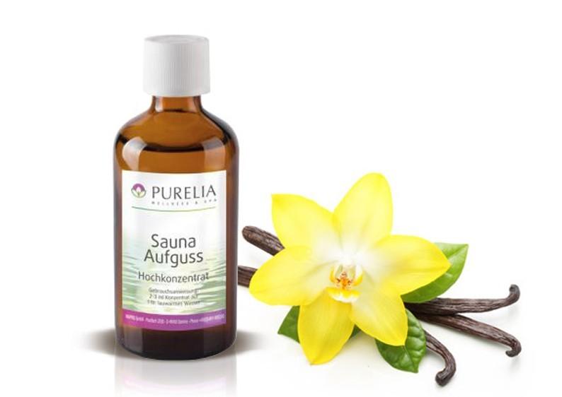 Purelia Saunaaufguss Duft 50 ml Vanille - Saunaduft