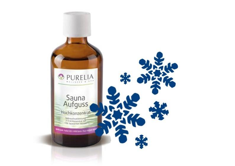 Purelia Saunaaufguss Duft 50 ml Wintertraum - Saunaduft