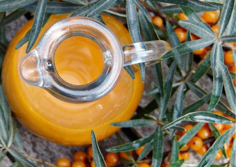Purelia Aufgusskonzentrat Saunaduft 50 ml Sanddorn