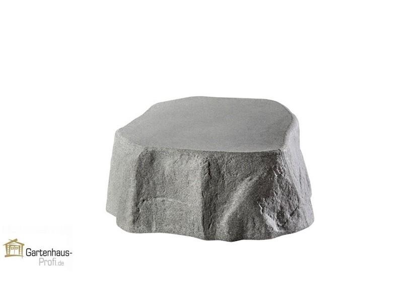 Dekor-Regenspeicher Tank Gartenfass Hinkelstein - granitgrau