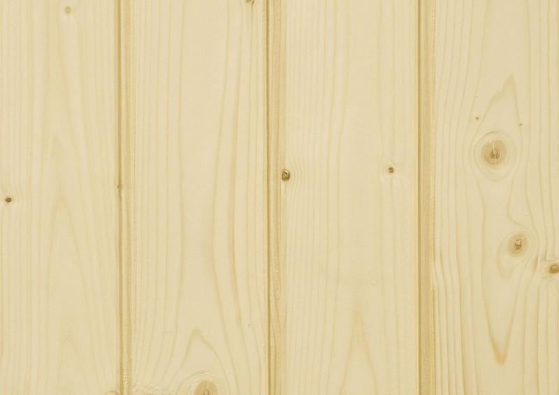 Infraworld Standard-Ausführung 70mm Pultdachhaus Gartensauna aus nordischer Fichte - Bella 3 - naturbelassen