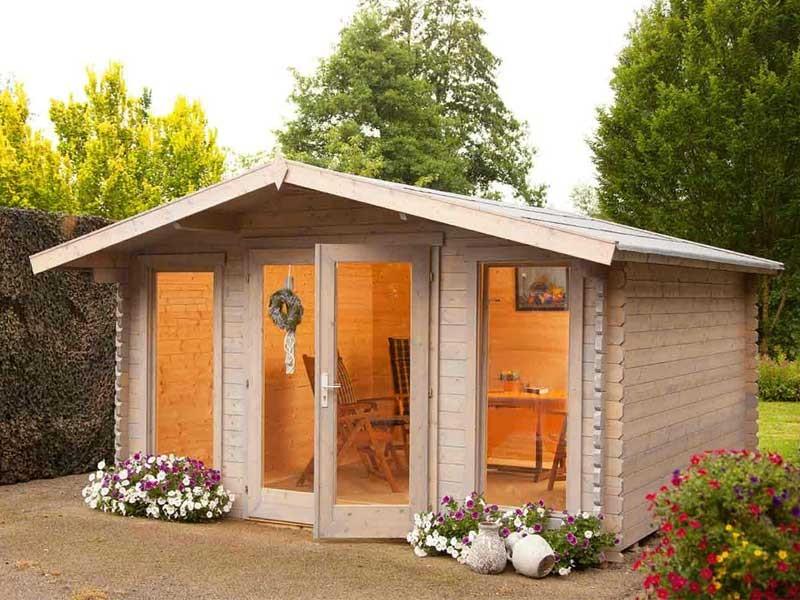 Wolff Finnhaus Holz-Gartenhaus  Rotterdam modern