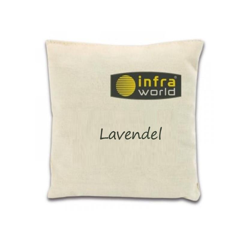 Duftkissen Lavendel - Infraworld Kräuterkissen für Bio-Sauna