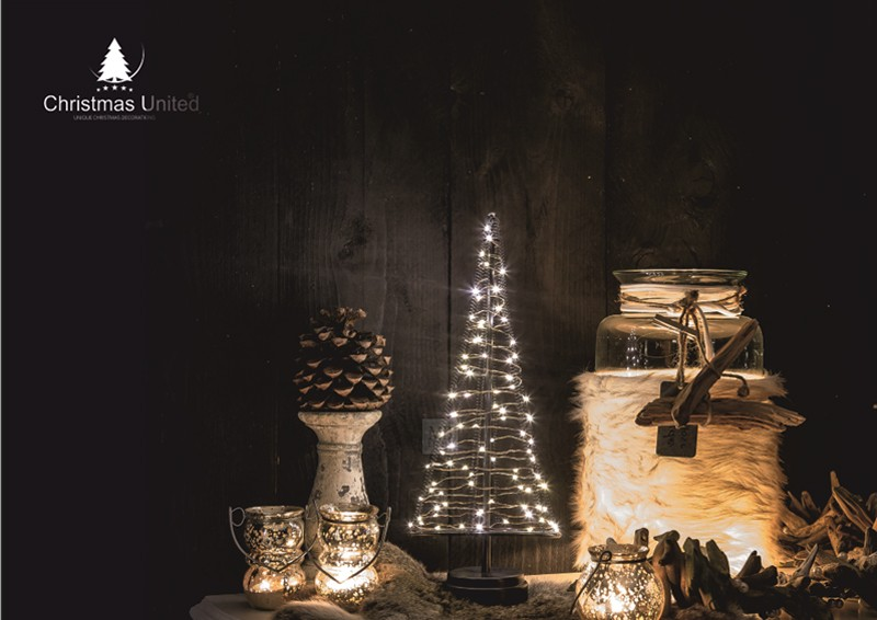 led lichterbaum kegel weihnachtsbaum f r innen gr e l 42 cm hoch 85 led lampen warmwei. Black Bedroom Furniture Sets. Home Design Ideas