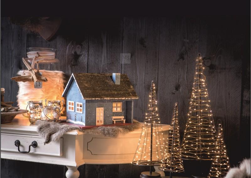 Weihnachtsbaum Rattan.Led Lichterbaum Kegel Weihnachtsbaum Für Innen Größe M 32 Cm Hoch 60 Led Lampen Warmweiß