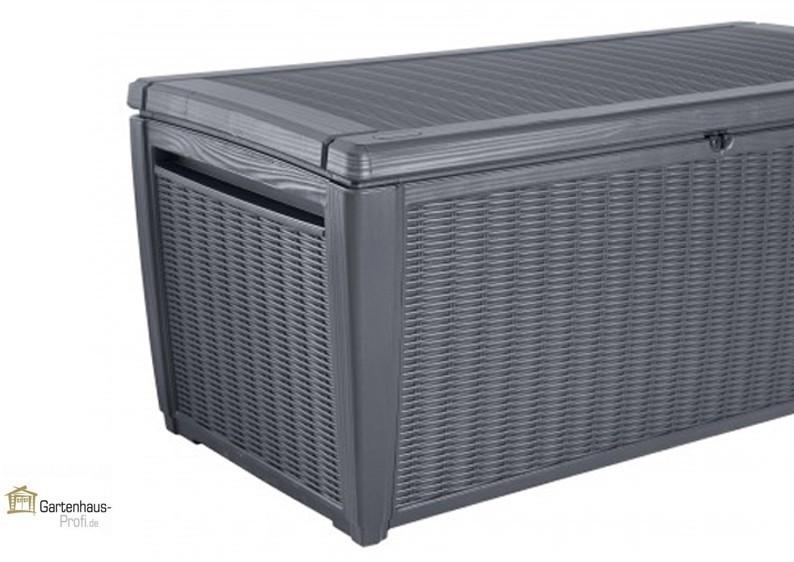 Tepro Kunststoff Aufbewahrungsbox Sumatra Box 511 Liter - anthrazit
