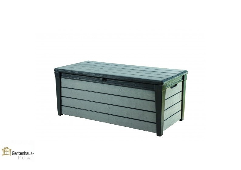 Tepro Kunststoff Aufbewahrungsbox Brushwood Box 455 Liter - anthrazit