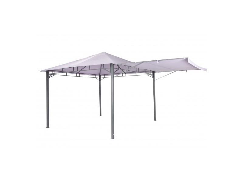 "Tepro Metall Garten Pavillon ""Lehua"" lavendel"