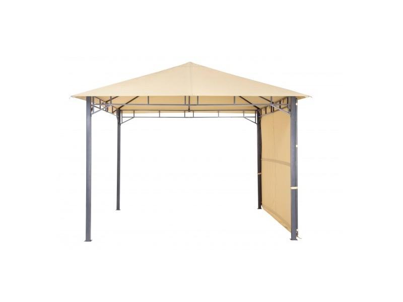 """Tepro Metall Garten Pavillon """"Lehua"""" sand"""