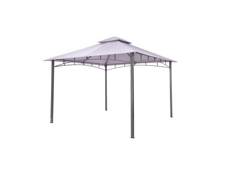 """Tepro Metall Garten Pavillon """"Waya"""" lavendel"""