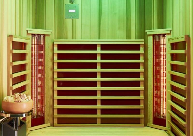 Infraworld Infrarotkabine TrioSol Cedar - B: 145 x 110 cm