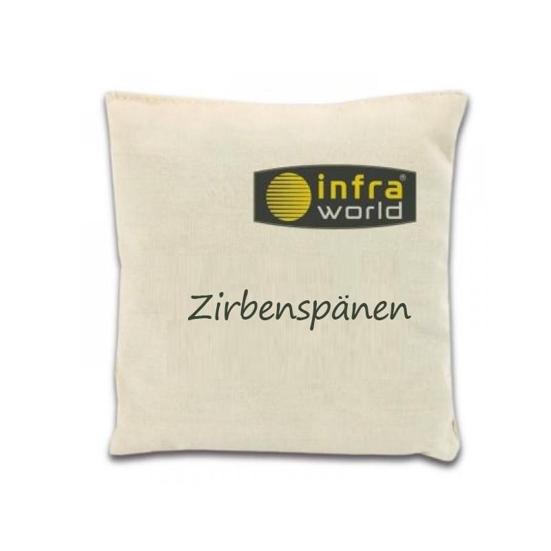 Duftkissen Zirbenspänen- Infraworld Kräuterkissen für Bio-Sauna
