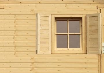 Gartenhaus Fenster 19 Mm