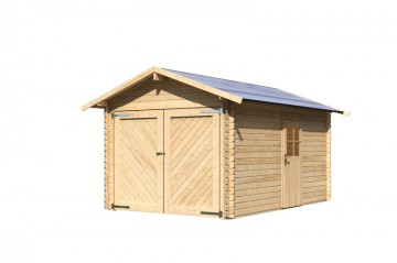 Karibu Holz Garagen Blockbohlengaragen Zum Selber Bauen
