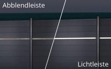 Zaun LED Lichtleiste