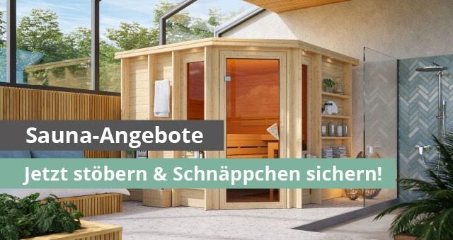 Sauna Angebote bei garten-freunde.de