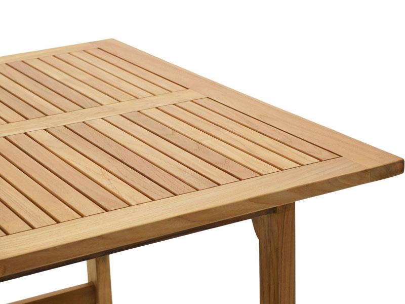 Ploss Gartenmobel Gartentisch Coventry Aus Premium Teak 120 X 120 X