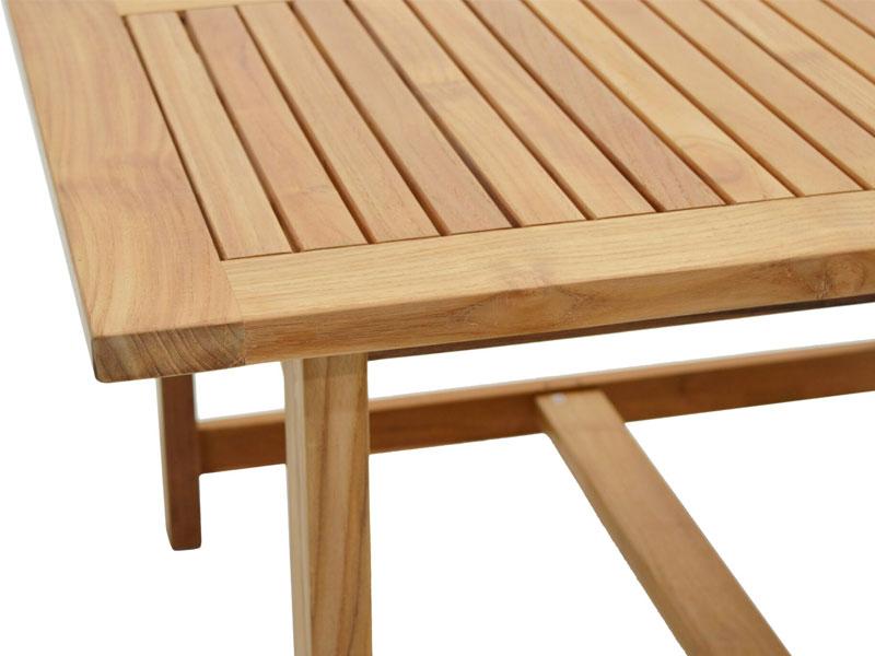 Ploss Gartenmöbel Gartentisch Coventry Aus Premium Teak 120 X 120 X