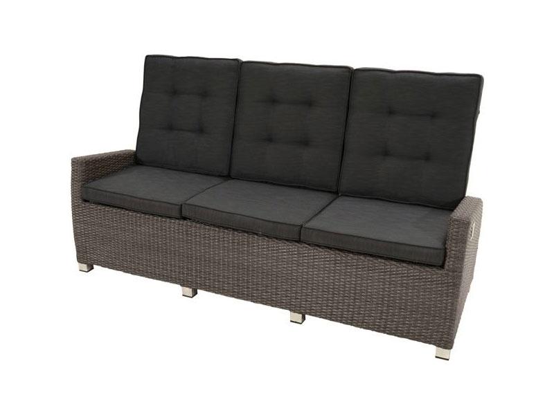 Ploss Gartenmobel Loungesofa Rocking Polyrattan Sofa 5 Fach