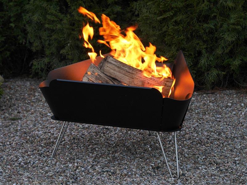 Vasner Merive 1 Feuerschale Feuerkorb für den Garten oder Terrasse